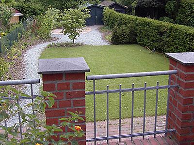 Humbert Mutterboden im Privatgarten